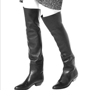 Michael Kors Shelby Calf Leather Boots!!!